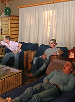 Denny, Fox, Phoenix, Tommy D and Trent jacking off