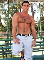 Jake Andrews sees the hunky, muscular Derek Atlas walk past and has to follow him home.