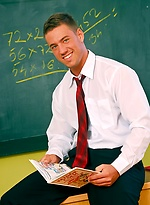 Horny teacher Jeffry Branson