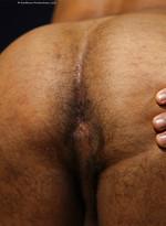 Tony Vega shows his butt