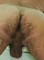 Silver Daddy Jeff Grove wanking off his cock