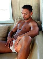 Lucky Daniels posing naked
