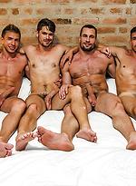 Devin Franco And Bogdan Gromov Bottom For Stas Landon And Roman Berman