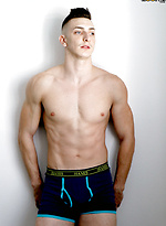 Ripped Gym JOCK Roman Tate Works Out And Jerks OFF